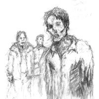 TFL scribbles: Zombies by Mablox
