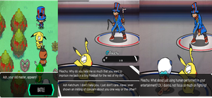 Pokemon Black and Blue Review: Part 2 by Stella6