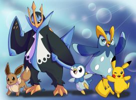 Piplup Evolutions Commission
