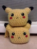 Pikachu x_x by PickledEmoes