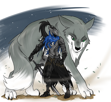 The Abysswalker and his companion by Spurkeht
