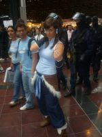 Cosplay Japan Expo 2012 - Korra by Two-Wan