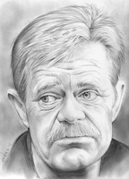 William Macy - No. 2 Pencil by gregchapin