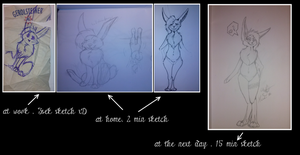How to draw a Manti - step by step by Gestaltwandler
