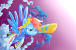 Rainbow Dash by littlebuster-k2