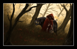 Little Red Ridding Hood by DawnFrost