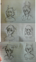 fantroll sketches by AerialNavigation