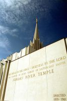 Jordan River Utah Temple by zulugrid