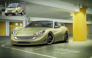 Smart Exotic Coupe Concept by KasperJohnsen