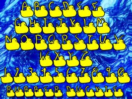 Rubber Duckie by blackdahlia