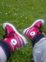 Chucks In Summer by Mikeyfer