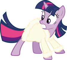 Bathrobe Twilight Sparkle by RealBoser