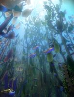 Kelp Forest by OrestesGraphics