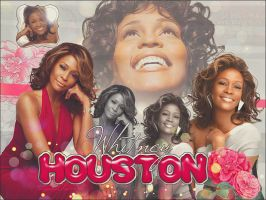 Whitney Houston DEP by LauraClover