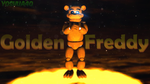 Golden Freddy by Yoshua40