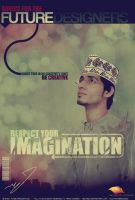 Respect Your Imagination Poster3 by ANC4DES