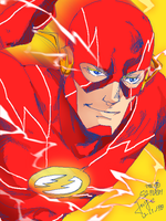 the Flash by onlyfuge