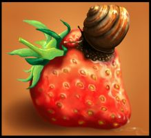 Strawberry by Ylvanqa
