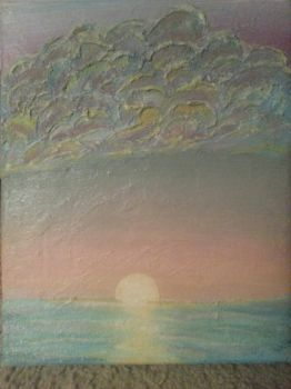 Ocean Sunset by Tiffany-Lathrop