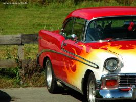 56 chevy bel air II by AmericanMuscle