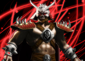 Shao Kahn by thepatster