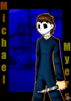 Michael Myers by DarkRavenofChaos