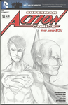 Action Comics Sketch Cover by Axel2396