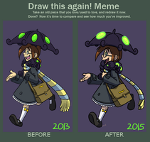 Meme: Draw This Again 2015 by forte-girl7