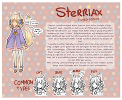Sterriax refrence sheet by ZeroLifePoints