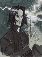 Severus Snape by Hodges-Art
