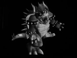 The Anguish Of Giga Bowser by protoss1210
