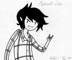 Marshall Lee by OtakaraAminelli