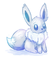 Shiny Eevee by Miss-Callie-Rose