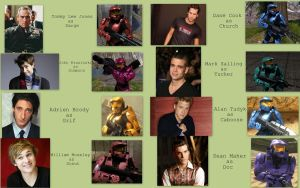 RvB Movie Cast by DancingSmily