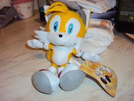 Tails Plushie 1 by DazzyDrawingN2