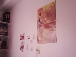 My Anime wall by Mitsuos-twin-sister