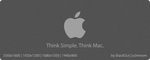 Think Mac Dark by schmrom