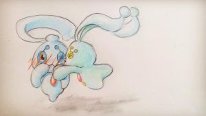 Phione and Manaphy by Ireneaa