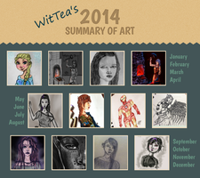 2014 Summary of Art by WitTea