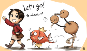 Pokemon: Let's go adventure! by wongsy49