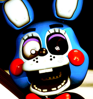 Toy Bonnie (Scott Cawthon) Icon by Apprenticehood