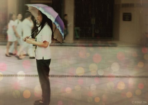 Reminiscing under the rain-Photography by Kimchan1412