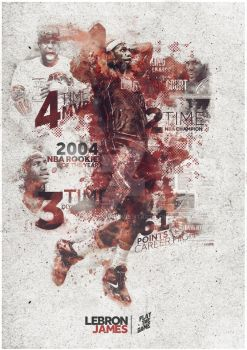 Lebron James - Play The Game by SpiderIV