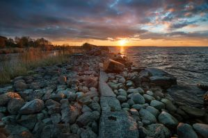 Baltic Sunset by xrust