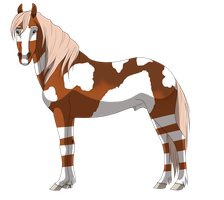 Stallion adopt 3 CLOSED by petshop101