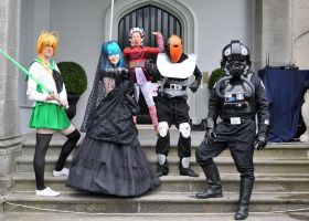 Cosplay Ireland and 501st Ireland at a Commuinity by Cairdiuil