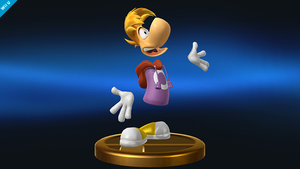 Rayman Smash Bros Trophy - Arranged version by SquizCat