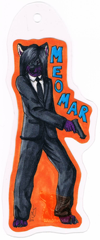 Agent Meomar Badge -Commission- by WindmelodieSoMu