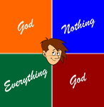 God, Everything, Nothing, God by acla13