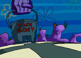 Chum Bucket by Kodmanii
